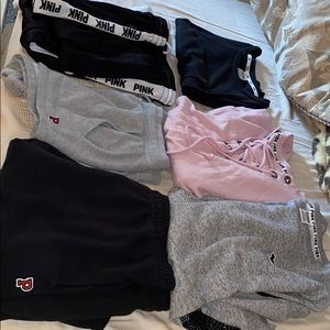 6 pieces 3 outfits from pink